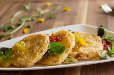 Fried Green Tomatoes with Green Tomato Jam