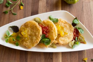 Fried Green Tomatoes, Five Loaves Catering
