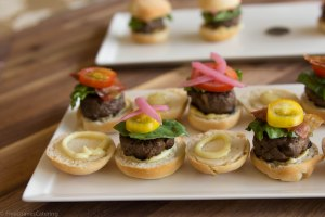 Mini Grassfed Beef Sliders