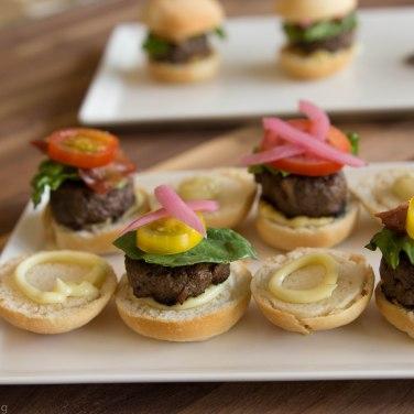 Mini Grassfed Beef Sliders
